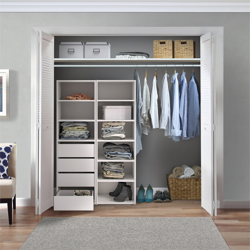 Use built-in wardrobes